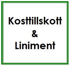 Kosttillskott/Liniment